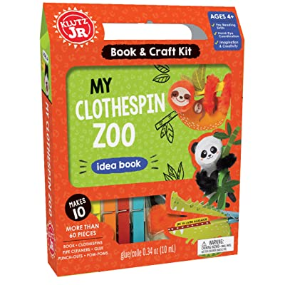 Klutz Jr. My Clothespin Zoo Craft Kit: Klutz: Toys & Games