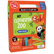 Klutz Jr. My Clothespin Zoo Craft Kit