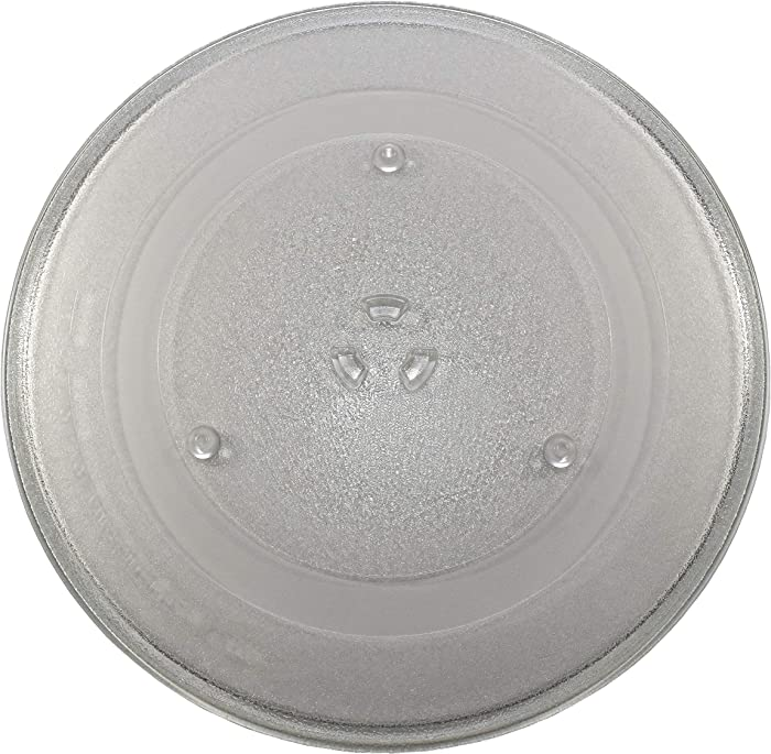 HQRP 14-1/8 inch Glass Turntable Tray fits GE WB49X10063 CVM2072SM1SS DVM1850DM2BB EMO4000JBB01 HDM1853BJ01 JNM1851DM2BB JVM1840AD001 JVM1842WD001 JVM1851BD001 Microwave Oven Cooking Plate 360mm