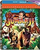 Jumanji - 20th Anniversary Edition [Blu-ray] [1996] [Region A & B & C]