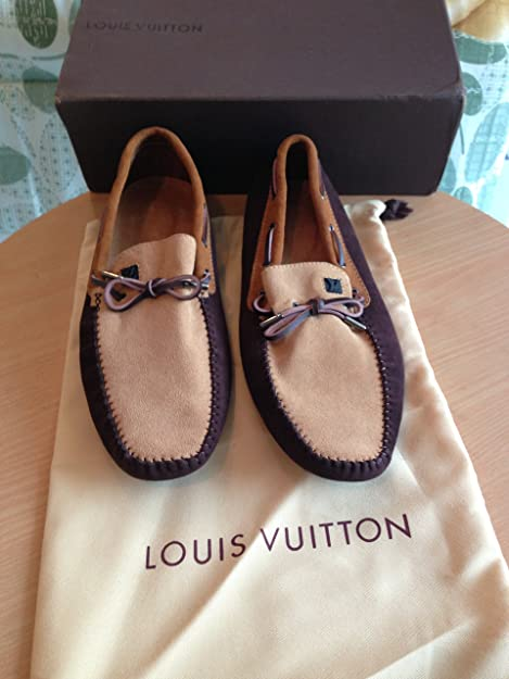Louis Vuitton - Mocasines para hombre marrón marrón 44: Amazon.es: Zapatos y complementos