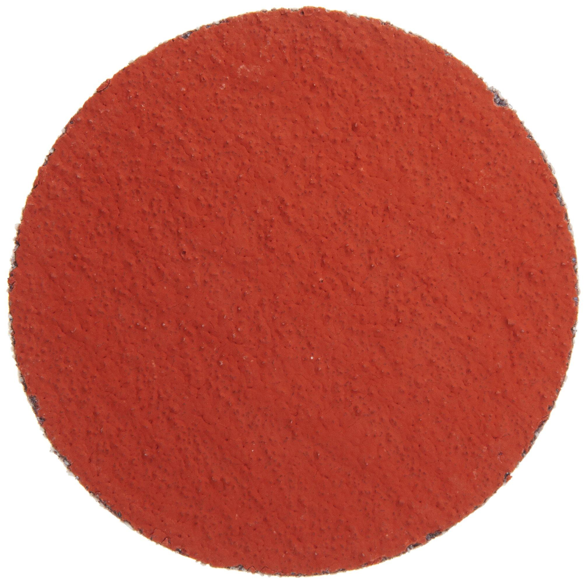 3M Roloc Disc 777F, Cloth, TR Attachment, Ceramic Aluminum Oxide, 2'' Diameter, 80 Grit (Pack of 50) by Cubitron