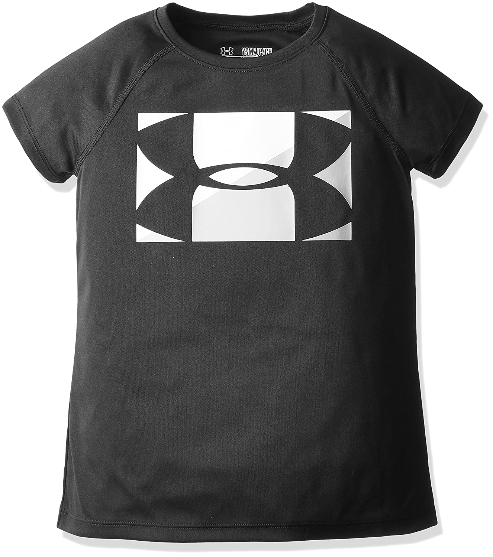 Under Armour Girls Big Logo T-Shirt