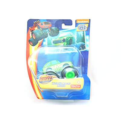 Fisher-Price Nickelodeon Blaze And The Monster Machines Metallic Racer Pickle: Toys & Games