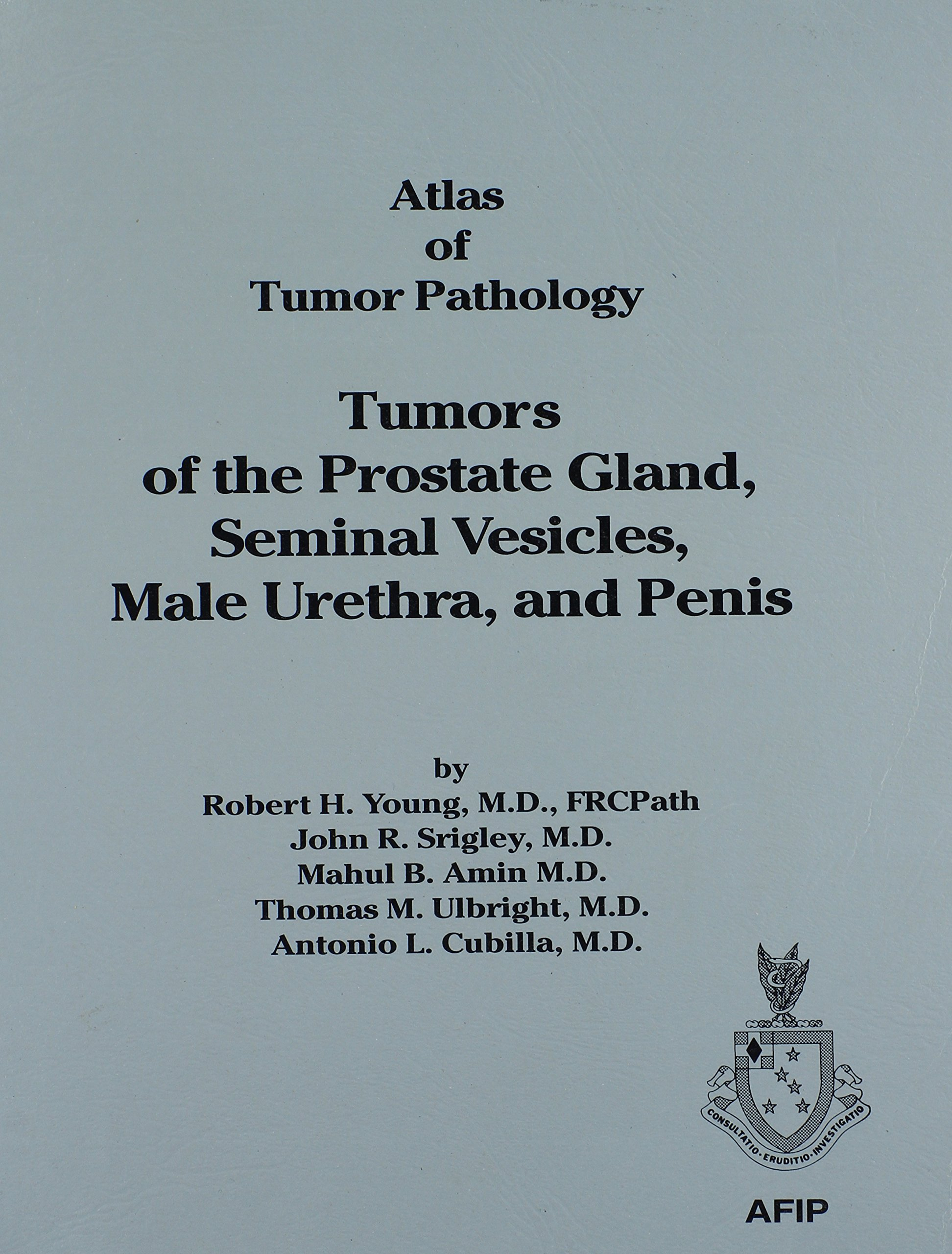 Download Tumors of the Prostate, Seminal Vesicles, Male Urethra and Penis (Atlas of Tumor Pathology (AFIP) 3rd Series) ebook