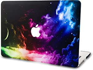 "KECC Laptop Case for MacBook Air 13"" Plastic Case Hard Shell Cover A1466/A1369 (Colorful Space)"
