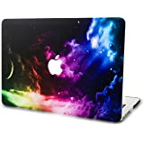 "KEC MacBook Pro 13"" Retina Case (2015) Cover Plastic Hard Shell Rubberized A1502 / A1425 Space Galaxy (Color Space)"