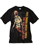Bravado Men's Five Finger Death Punch Wotf Ninja T-Shirt