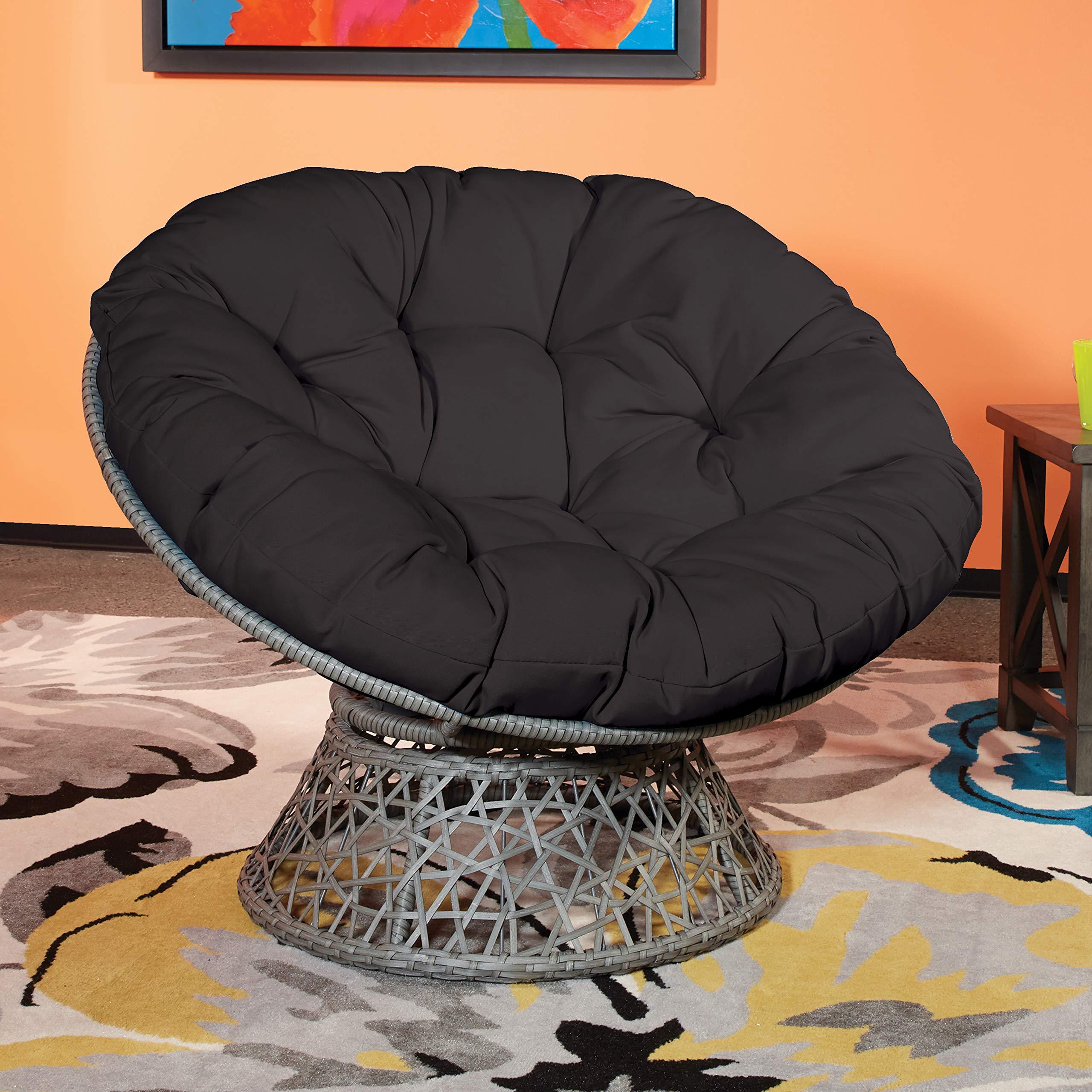 OSP Designs  Papasan Chair, Black by OSP Designs (Image #2)