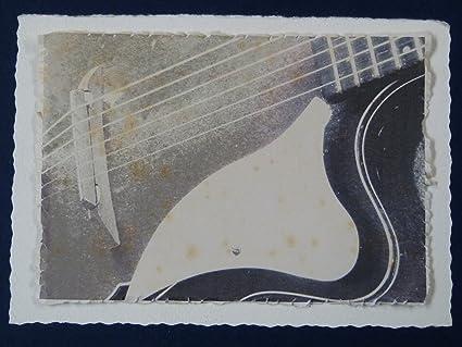 Saludos/tarjeta de cumpleaños hecho a mano de la vendimia jazz ...