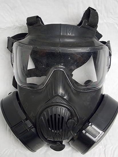 74987803a Avon Full Face Respirator M50 Gas Mask CBRN NBC Protection Medium ...