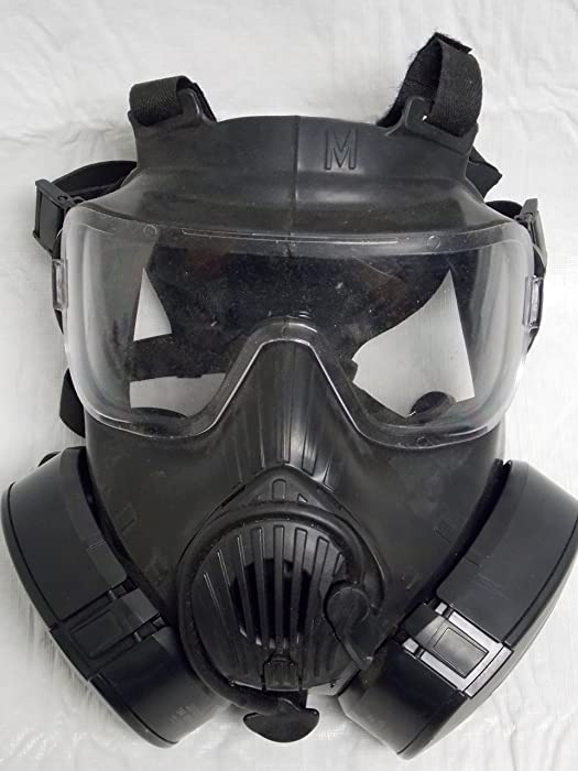 10. Avon Full-Face Respirator M50 Gas Mask CBRN NBC Protection Medium