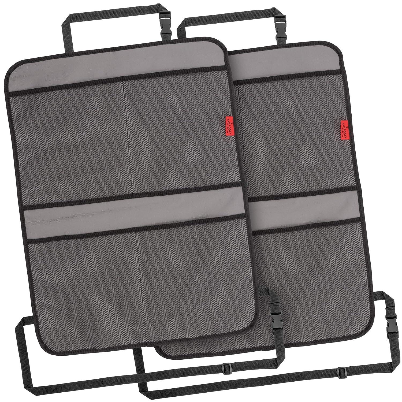 Seat Back Protectors 2 Pack Premium Waterproof Reinforced Corners Odor Free New
