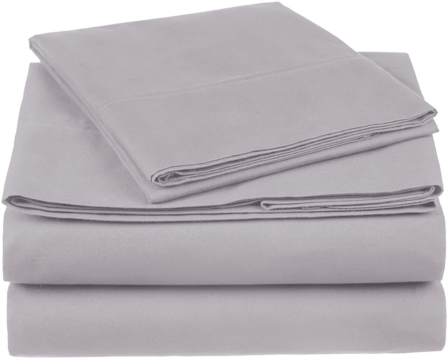 Pinzon Organic Cotton Sheet Set - Twin XL, Dove Grey