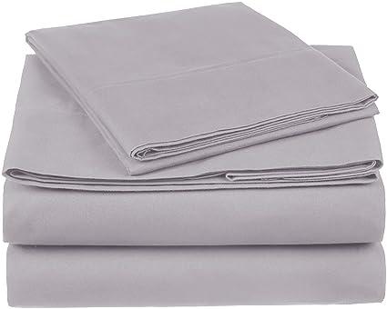 Amazon.com: Pinzon 300 Thread Count Organic Cotton Sheet Set
