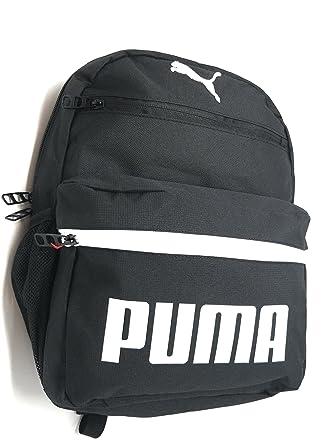 45d9e8e58ed9 Puma Meridan JR Backpack (Black White)