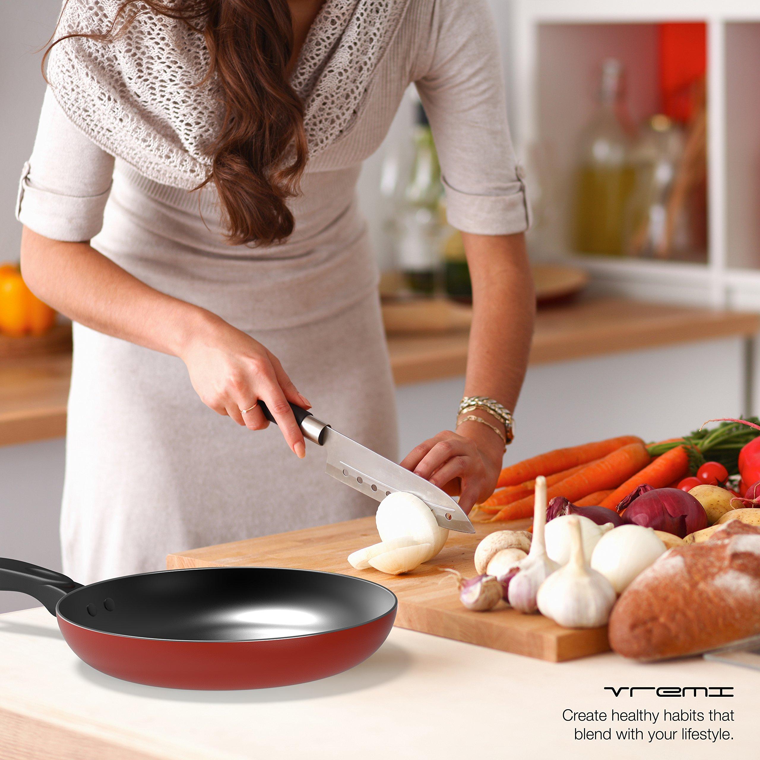 Kitchen cookware utensils set nonstick on sale dishwasher for Kitchen set on sale