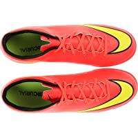 Nike Unisex Mercurial Victory V Turf Red Football Shoe - 7