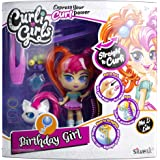 SilverLit 82097 Curli Girls Deluxe Set with Pet, Mixed Colours