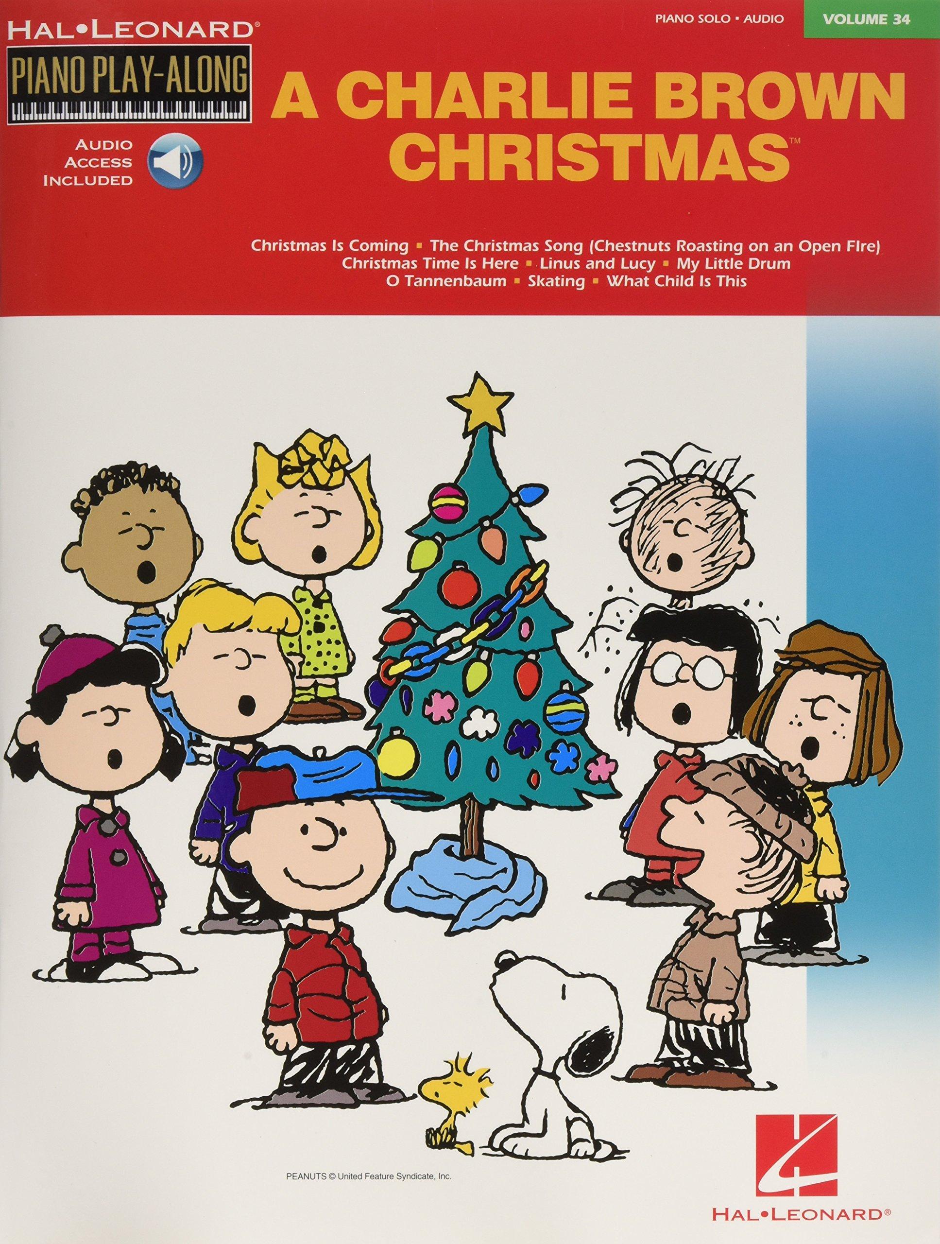 charlie brown christmas piano play along volume 34 hal leonard piano play along vince guaraldi 0073999720174 amazoncom books - What Is Open On Christmas Eve