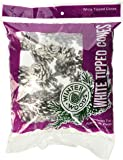 White Tipped Red Pine Cones 7 Ounces/Pkg-