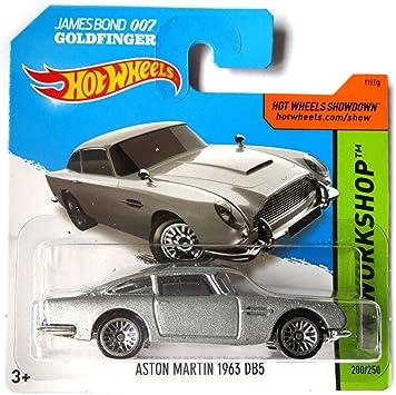 Hot Wheels Aston Martin 1963 Db5 Silber James Bond 007 Goldfinger 1 64 Amazon De Spielzeug
