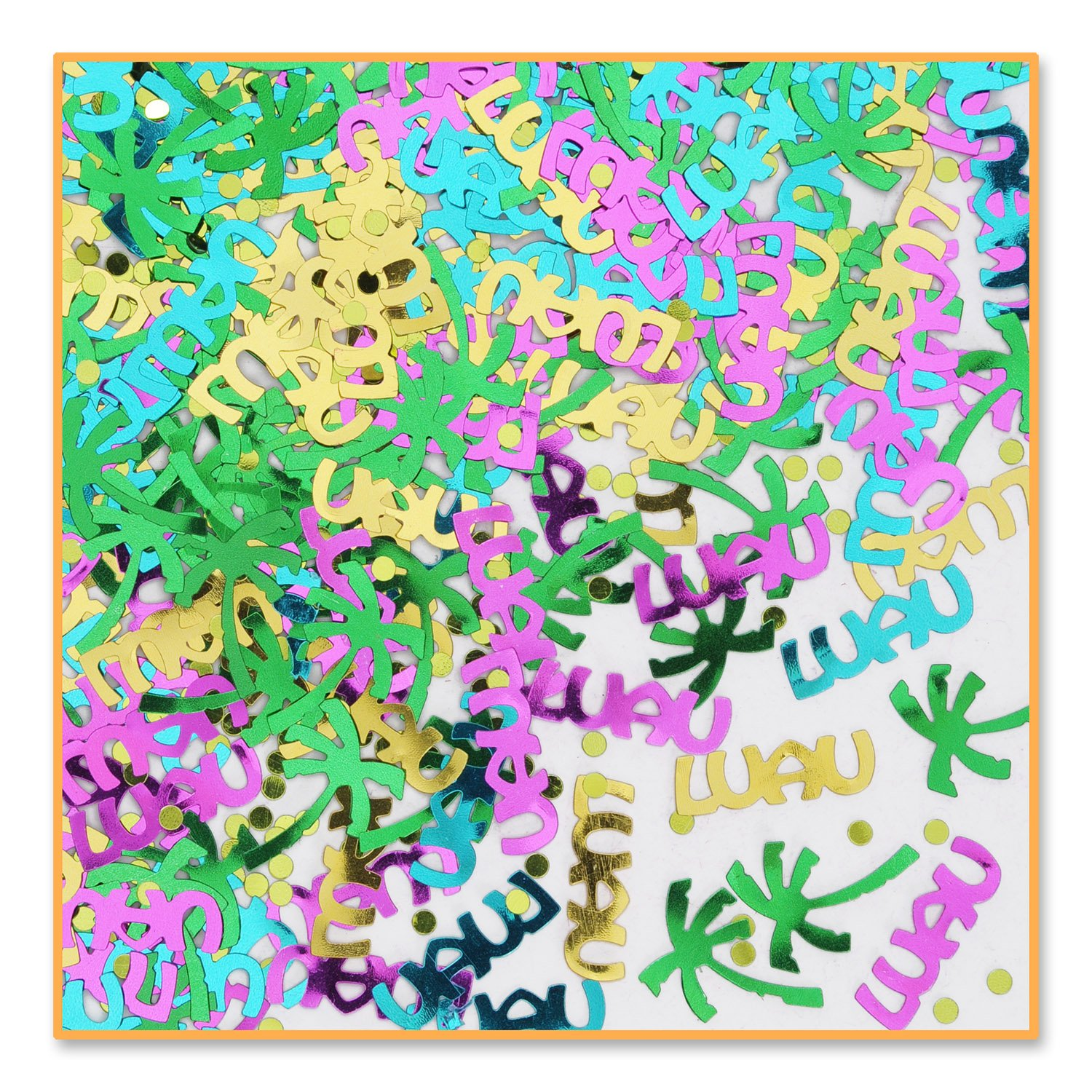 Luau Party Confetti (Pack of 96) by Beistle