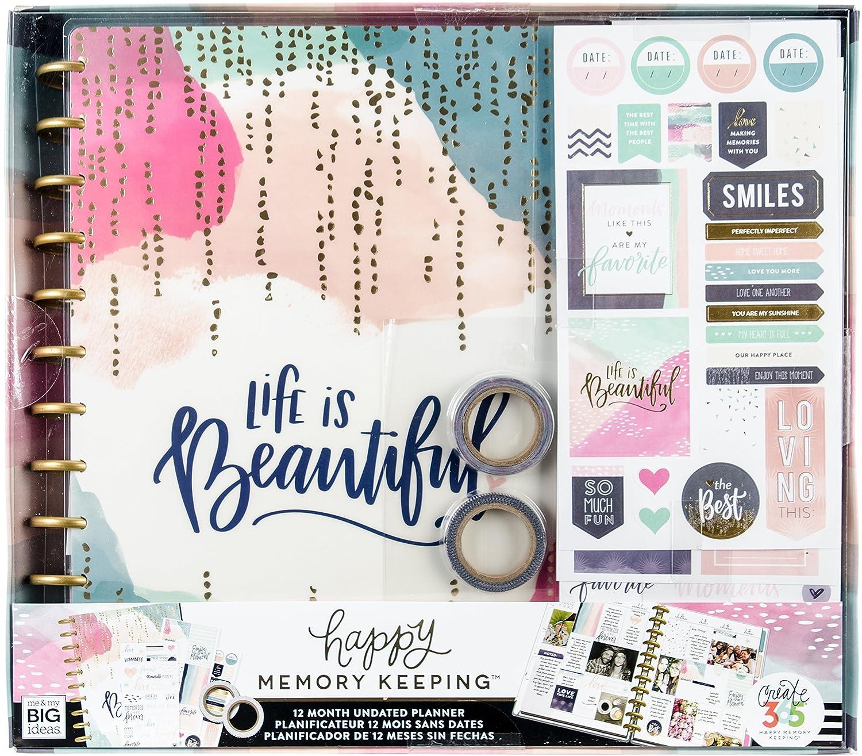 Me & My Big idee grandi planner Undated dodici box kit Me & My Big Ideas BOX-156