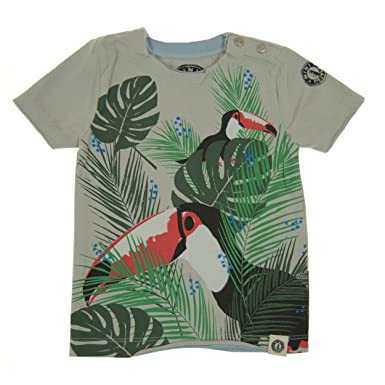 31a8037b5 Amazon.com: Mini Shatsu Baby Boys' Tropical Toucan T-Shirt: Clothing