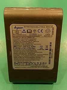 Batería original para aspiradora Dyson DC45 SV, DC 43 H, DC43H 22.2 V 2000 mAh Tipo B 967861 – 04 montaje con tornillos: Amazon.es: Electrónica