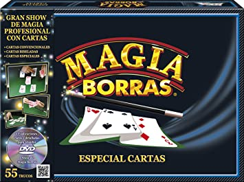 Educa Borrás 15464 - Magia Borras Especial Cartas: Amazon.es ...