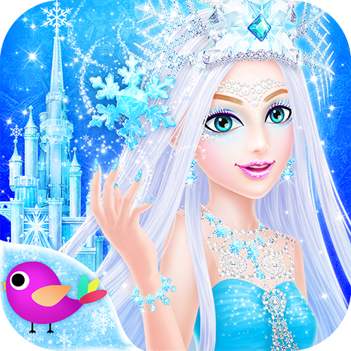 Princess Salon: Frozen Party (Snowman Make Up)
