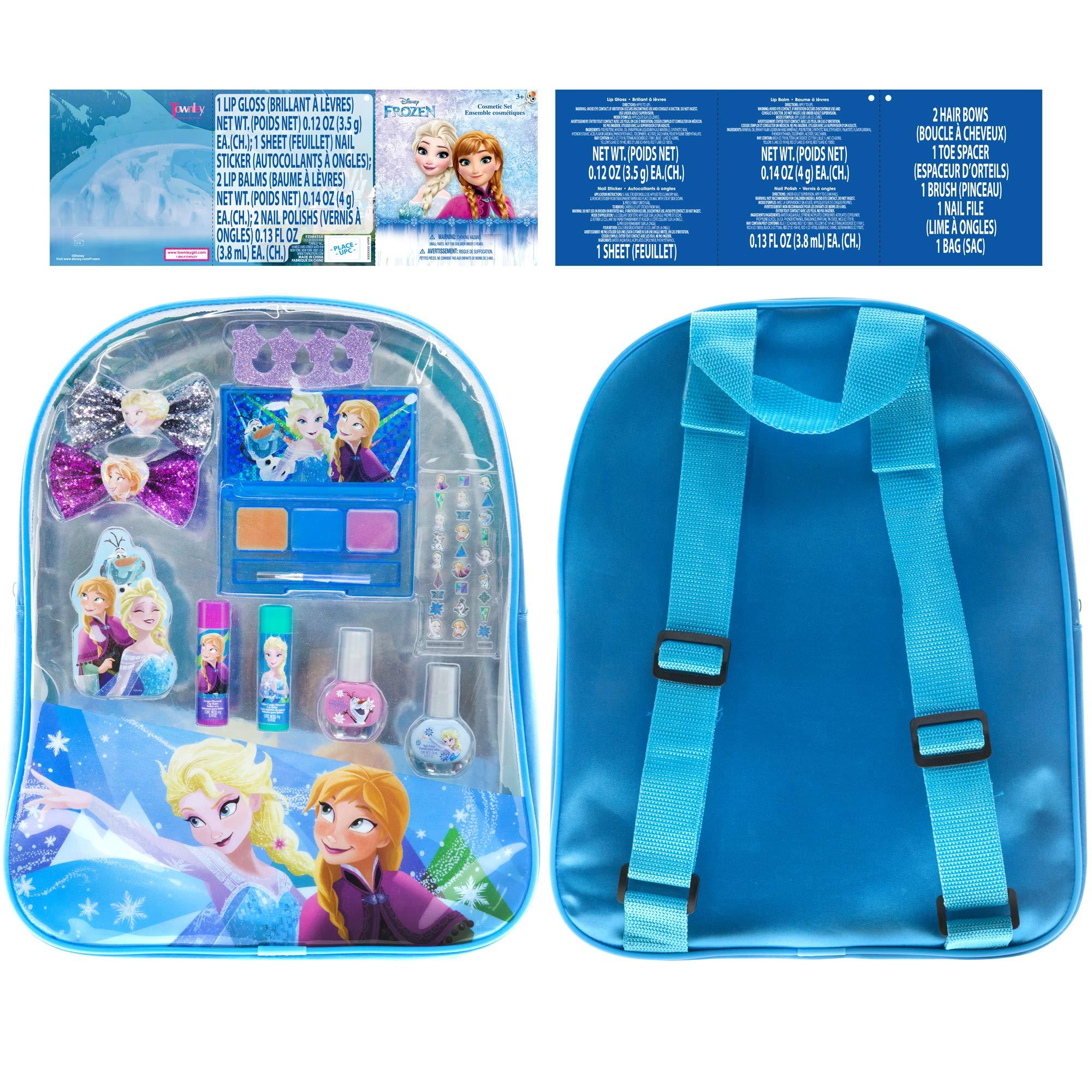 Townley Girl Disney Princess Non Toxic Peel Off Nail: Amazon.com : Frozen Elsa And Anna Kids Washable Mega