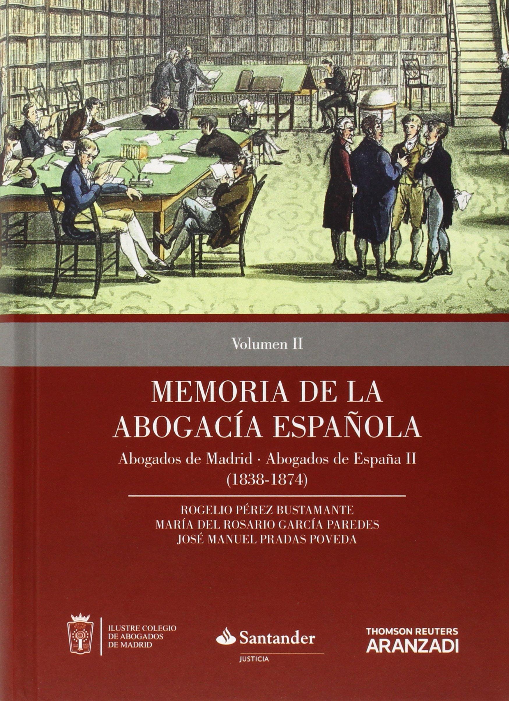 Memoria de la Abogacía Española: Abogados de Madrid, Abogados de ...