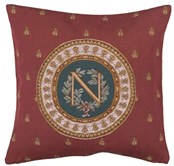 Amazon.com: Rojo Napoleón Francés Tapestry Cojín: Home & Kitchen