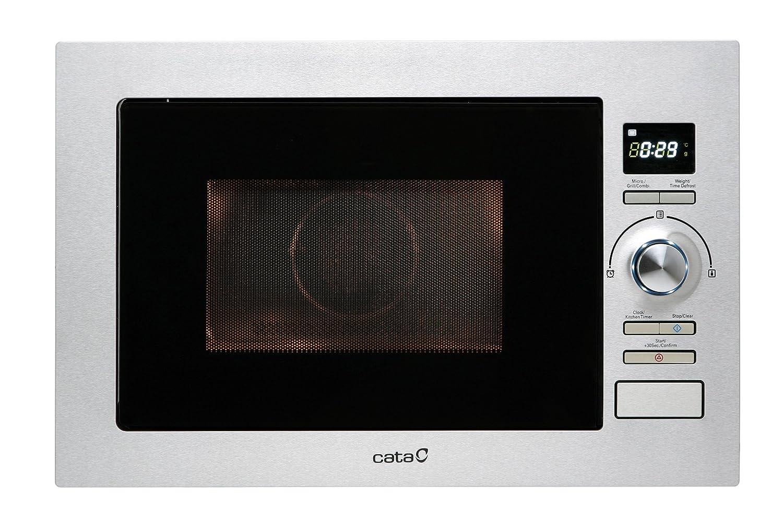 Cata MC 25 D - Horno microondas con grill, 900 W, color plateado ...