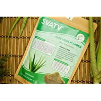 SVATV Aloe Vera Powder II Natural Skin Moisturizer II 227g, 8oz, 0,5lb