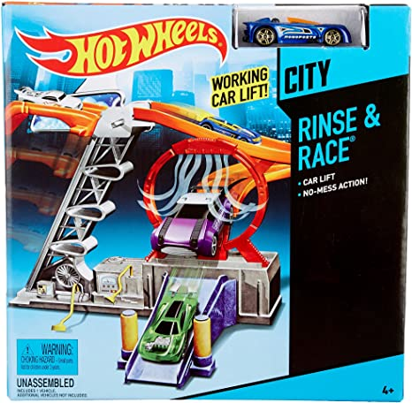 Hot Wheels Turbo Abduction Play Set