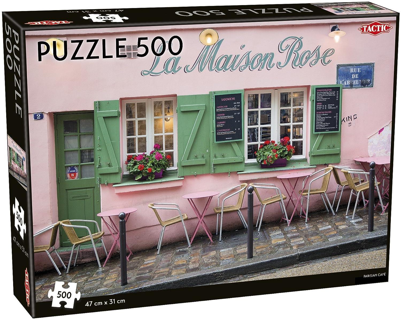 春新作の Tactic Parisian Parisian 500ピース B07FLBVC8X カフェジグソーパズル 500ピース B07FLBVC8X, メグロク:cf21a249 --- 4x4.lt