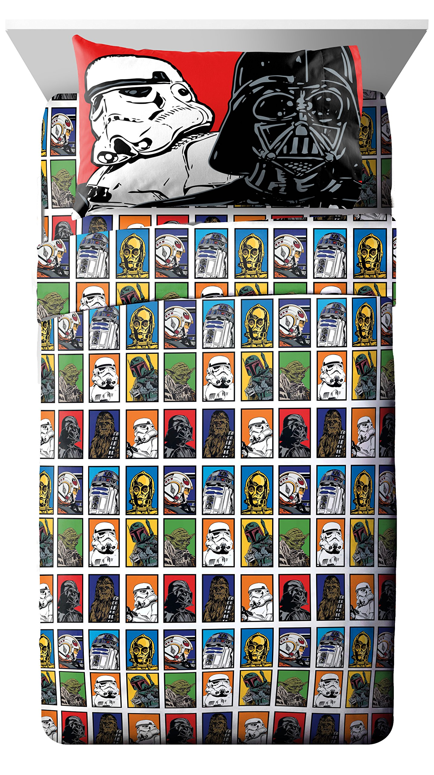 Lucas Film Star Wars 3 Piece Twin Sheet Set