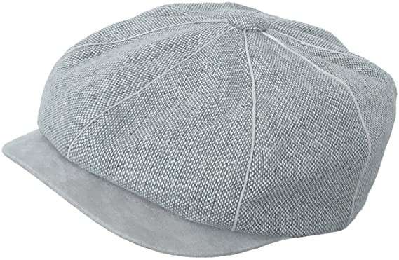 2c97552a Who Ced Tweed Gatsby Cap (Grey/X-Large) at Amazon Men's Clothing store: