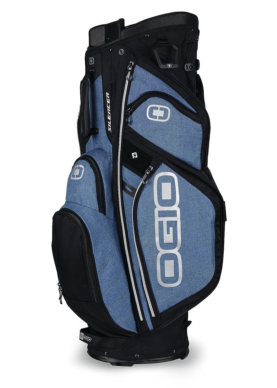 Amazon.com : OGIO 2018 Silencer Cart Bag, Blue Static : Sports ...
