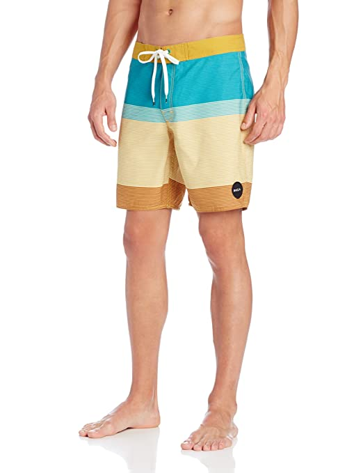 947776afc1 Amazon.com: RVCA Men's Commander 18 Swim Trunks: Clothing