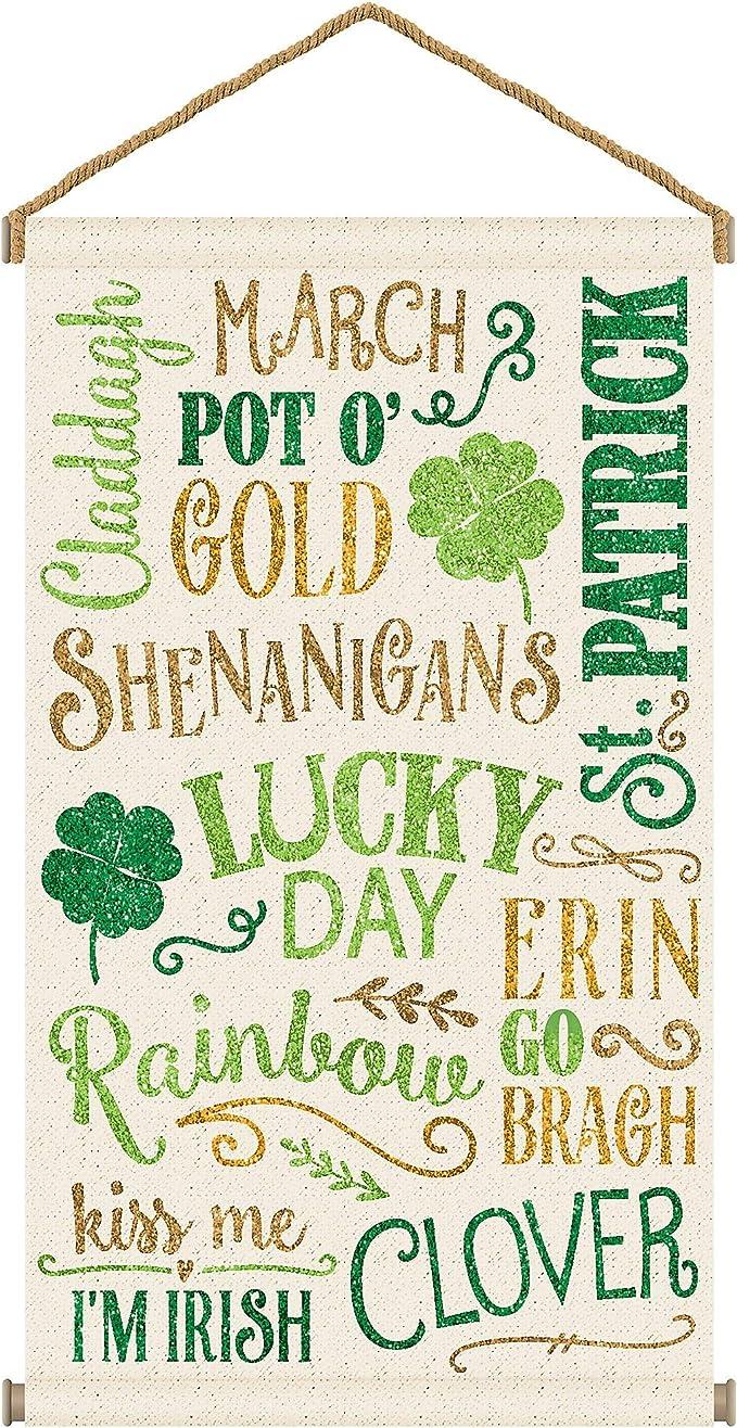 Happy St Patricks Day Pot O Gold MDF Sign