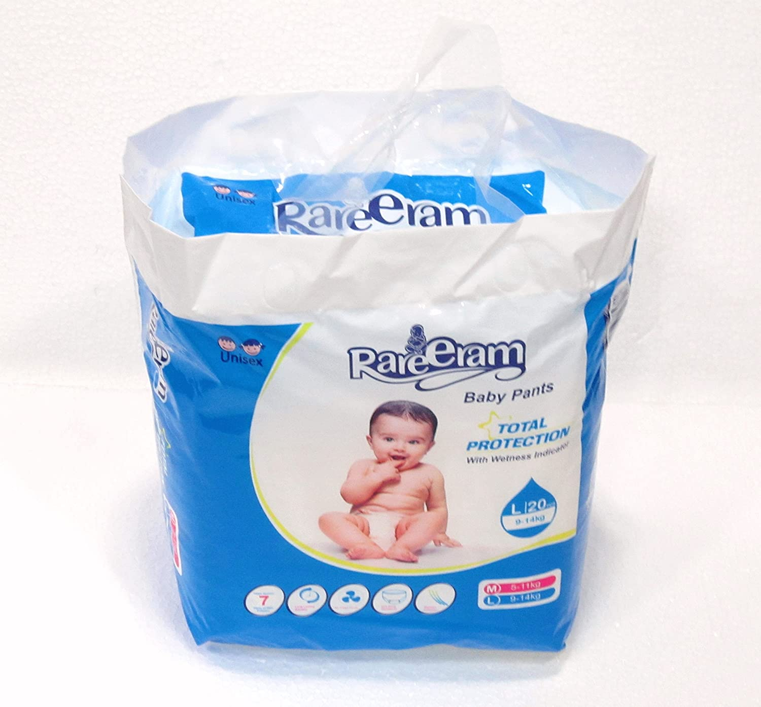 Buy Rareeram Diaper Pants With Wetness Indicator Pack Of 40 Mamypoko Diapers L20 Large L Online At Low Prices In India