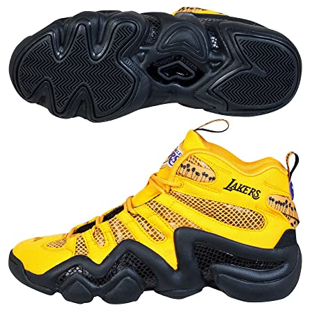 big sale c2b4f 161d9 Adidas Los Angeles Lakers Crazy 8 Basketball Shoe - Gold: Amazon.co.uk:  Kitchen & Home