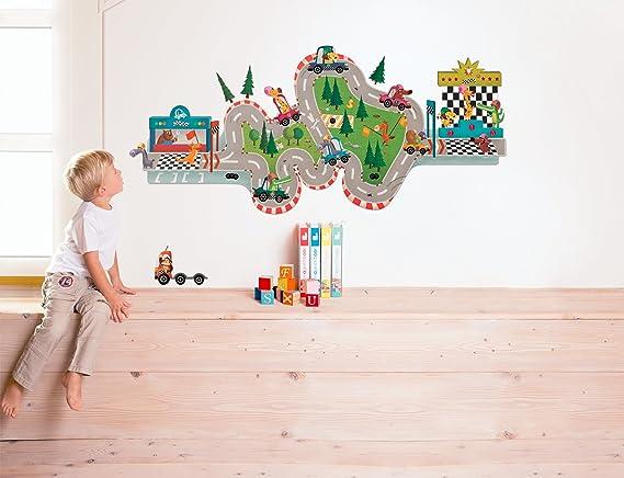 Janod racing magnetic stick amazon co uk toys games
