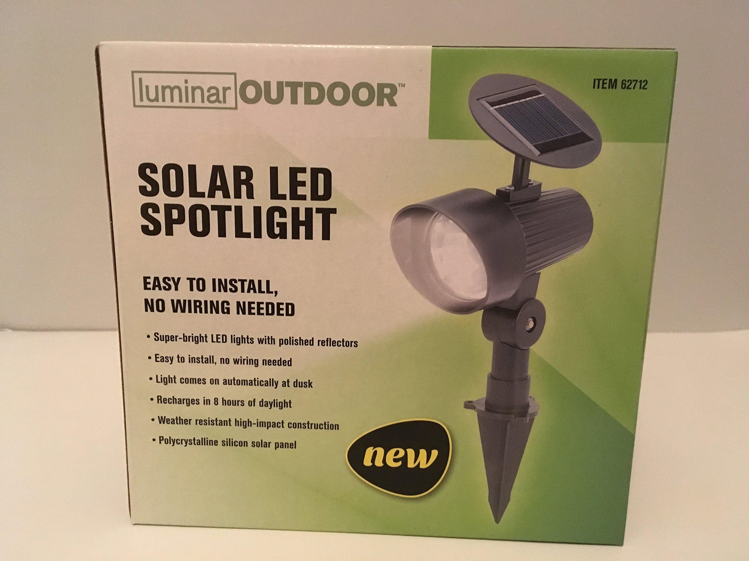 Solar Spotlight LED Light (1)