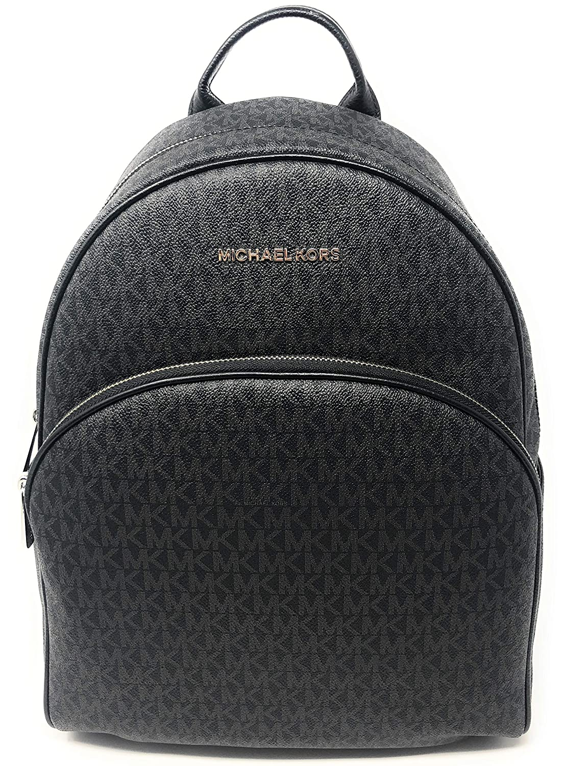 2194d823abc7 Amazon.com: MICHAEL Michael Kors Abbey Jet Set Large Leather Backpack  (Black 2018): Shoes