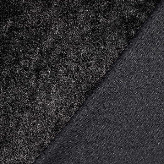 Khaki 320g//m/² Breite 153 cm Winterfleece 0,5 m Alpenfleece mit einer glatten Seite Kuschelfleece